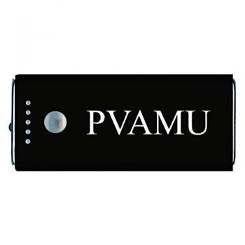 Prairie View A&M University -Portable Cell Phone 5200 mAh Power Bank Charger -Black