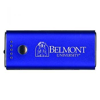 Belmont University-Portable Cell Phone 5200 mAh Power Bank Charger -Blue