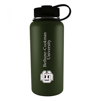 Bethune-Cookman University-32 oz. Travel Tumbler-Gun Metal