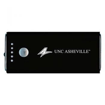 University of North Carolina at Asheville-Portable Cell Phone 5200 mAh Power Bank Charger -Black