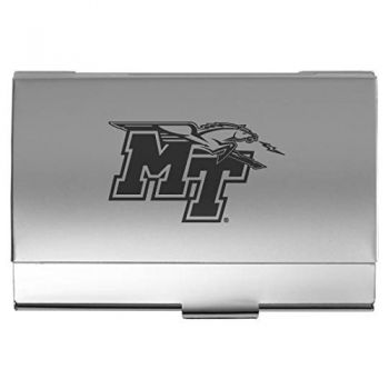 Middle Tennessee State University - Pocket Business Card Holder