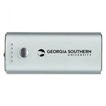 Georgia Southern University-Portable Cell Phone 5200 mAh Power Bank Charger -Silver