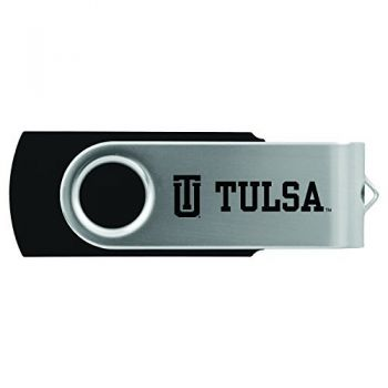 University of Tulsa-8GB 2.0 USB Flash Drive-Black