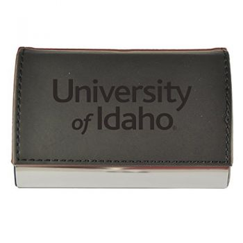 Velour Business Cardholder-University of Idaho-Black