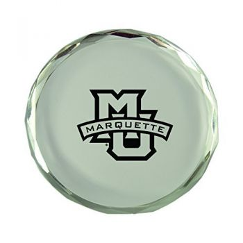 Marquette University-Crystal Paper Weight