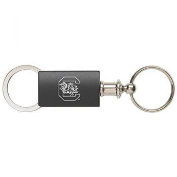 University of South Carolina - Anodized Aluminum Valet Key Tag - Black