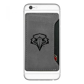 Morehead State University-Cell Phone Card Holder-Grey