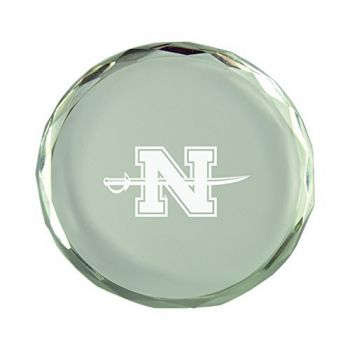 Nicholls State University-Crystal Paper Weight