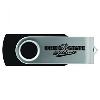 California State University, Chico-8GB 2.0 USB Flash Drive-Black
