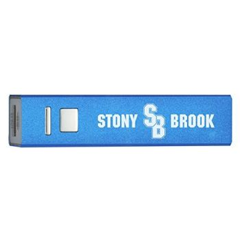 Stony Brook University - Portable Cell Phone Charger - 2600mAh Power Bank - Blue
