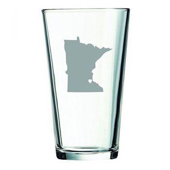16 oz Pint Glass  - I Heart Minnesota - I Heart Minnesota