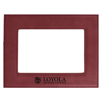 Loyola University Chicago-Velour Picture Frame 4x6-Burgundy