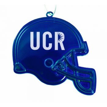 University of California, Riverside - Chirstmas Holiday Football Helmet Ornament - Blue