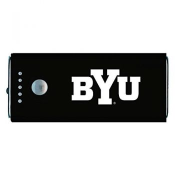Brigham Young University -Portable Cell Phone 5200 mAh Power Bank Charger -Black