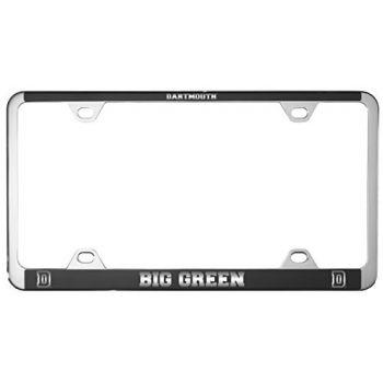 Dartmouth College-Metal License Plate Frame-Black