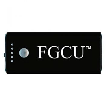 Florida Gulf Coast University -Portable Cell Phone 5200 mAh Power Bank Charger -Black