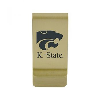 University of Kentucky|Money Clip with Contemporary Metals Finish|Solid Brass|High Tension Clip to Securely Hold Cash, Cards and ID's|Silver