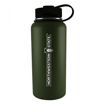Northwestern State University -32 oz. Travel Tumbler-Gun Metal