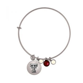 Texas Tech University-Frankie Tyler Charmed Bracelet