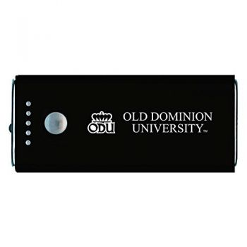 Old Dominion University -Portable Cell Phone 5200 mAh Power Bank Charger -Black
