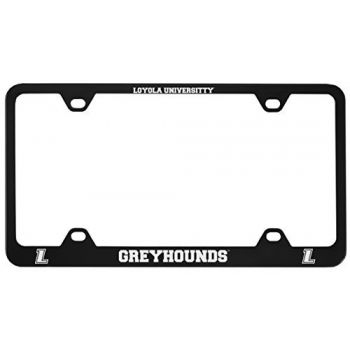 Loyola University Maryland-Metal License Plate Frame-Black