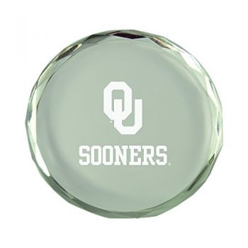 Oklahoma State University-Crystal Paper Weight