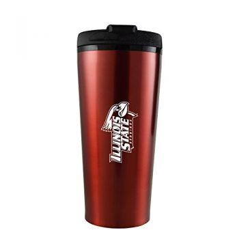 Illinois State University-16 oz. Travel Mug Tumbler-Red