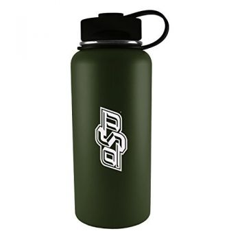Oklahoma State University -32 oz. Travel Tumbler-Gun Metal