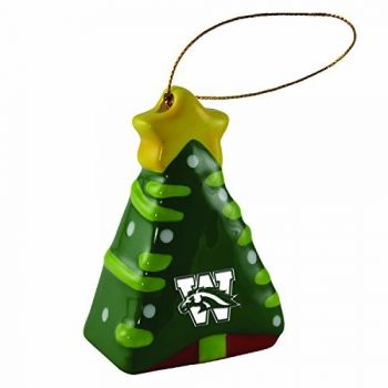 Western Michigan University-Christmas Tree Ornament