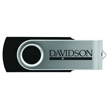Davidson College-8GB 2.0 USB Flash Drive-Black