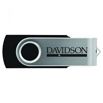 Davidson College-8GB 2.0 USB Flash Drive-Black
