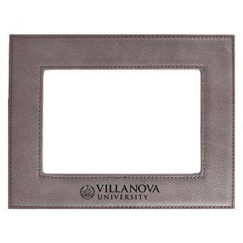 Villanova University-Velour Picture Frame 4x6-Grey