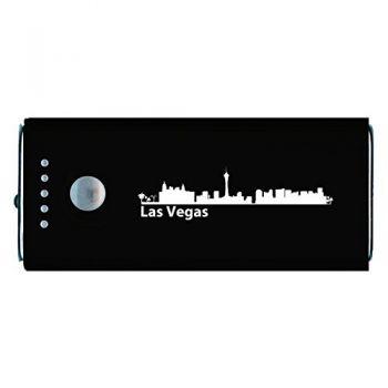 Quick Charge Portable Power Bank 5200 mAh - Las Vegas City Skyline