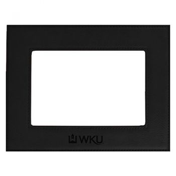 Western Kentucky University-Velour Picture Frame 4x6-Black