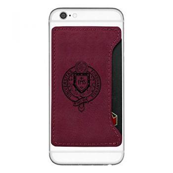 Fordham University-Cell Phone Card Holder-Burgundy