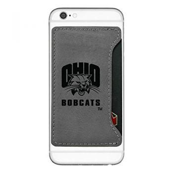Ohio University-Cell Phone Card Holder-Grey
