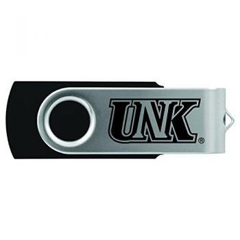 University of Nebraska at Kearney -8GB 2.0 USB Flash Drive-Black