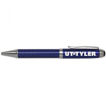 University of Texas at Tyler-Carbon Fiber Ballpoint Pen-Blue