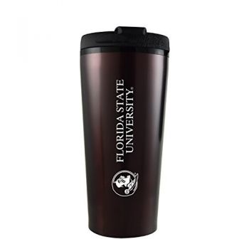 Florida State University -16 oz. Travel Mug Tumbler-Burgundy