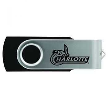University of North Carolina at Charlotte -8GB 2.0 USB Flash Drive-Black