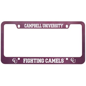Campbell University -Metal License Plate Frame-Pink