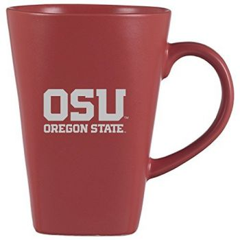 Oregon State University -16 oz. Tall Ceramic Coffee Mug-Black