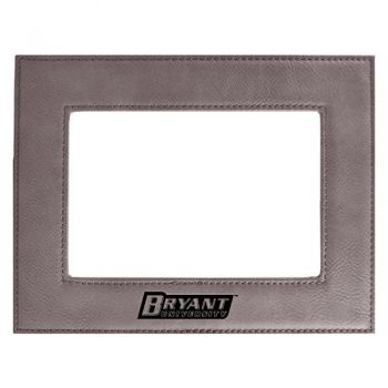 Bryant University-Velour Picture Frame 4x6-Grey