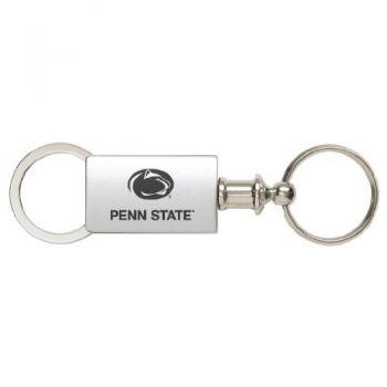 Pennsylvania State University - Anodized Aluminum Valet Key Tag - Silver