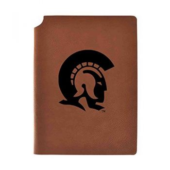 University of Arkansas At Little Rock Velour Journal with Pen Holder|Carbon Etched|Officially Licensed Collegiate Journal|