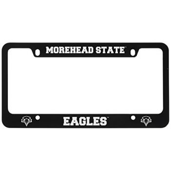 Morehead State University -Metal License Plate Frame-Black