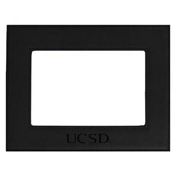 University of California, San Diego-Velour Picture Frame 4x6-Black