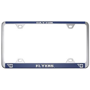 University of Dayton -Metal License Plate Frame-Blue