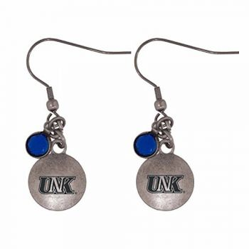 University of Nebraska at Kearney-Frankie Tyler Charmed Earrings