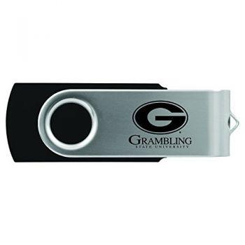 Grambling State University-8GB 2.0 USB Flash Drive-Black